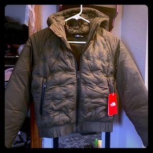 NWT North face coat XS/14Y